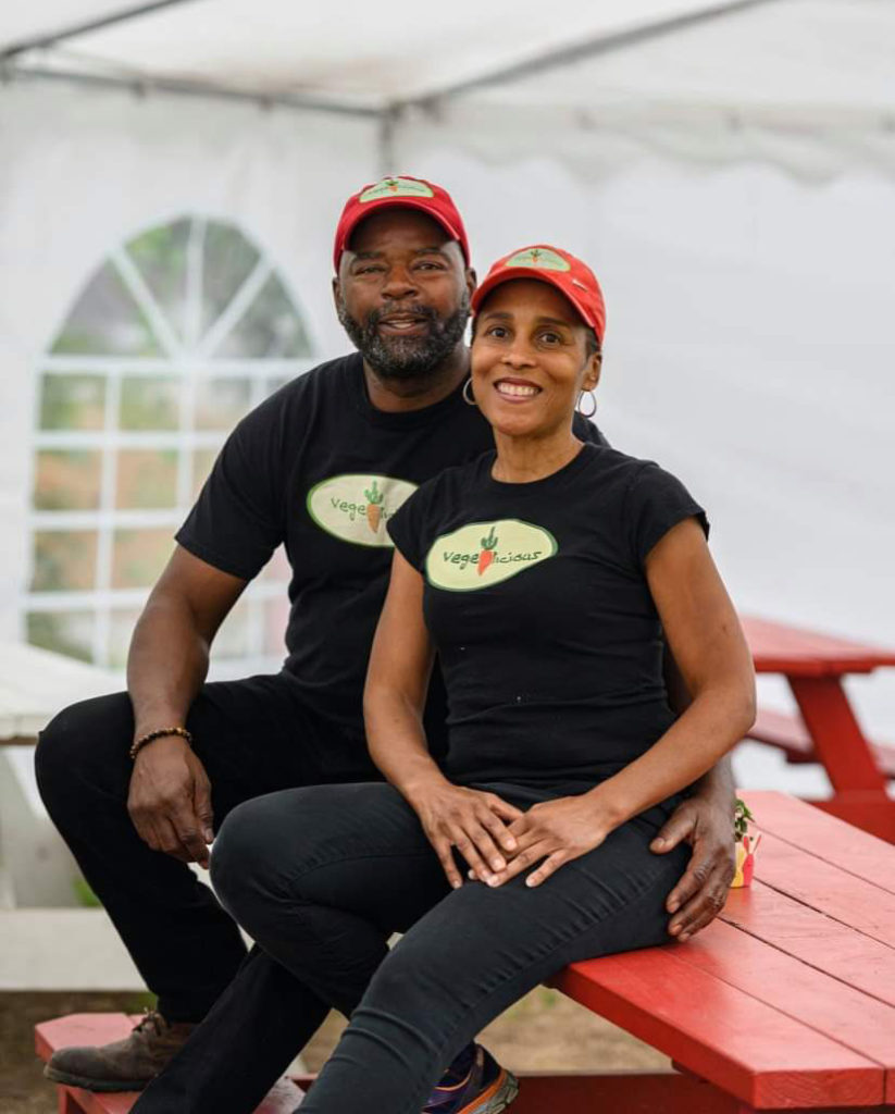 Owners of Vege-licious vegan soul-food restaurant in Nashville.